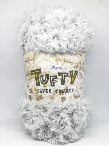 King Cole Tufty Super Chunky 2799 Grey