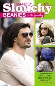 Knit Celebrity Slouchy Beanies for the Family A5 75357 DISCONTINUED