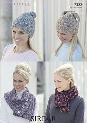 Knitted Hats, Scarf, Gloves & Accessories
