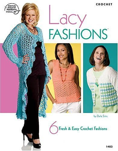 Lacy Fashions Pattern Book ASN 1403 DISCONTINUED