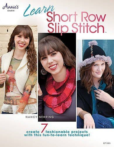 Learn Short Row Slip Stitch Pattern Book AA 871383 DISCONTINUED