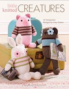 Little Knitted Creatures Knitting Book LA 5144 DISCONTINUED