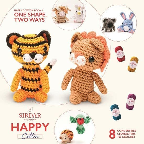 One Shape Two Ways Happy Cotton Book 1
