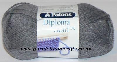 Patons Diploma Gold DK Yarn 6184 Steel