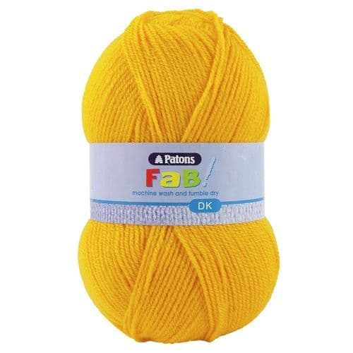 Patons FAB DK 2305 CANARY  Yellow