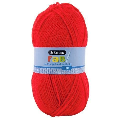 Patons FAB DK 2323 RED