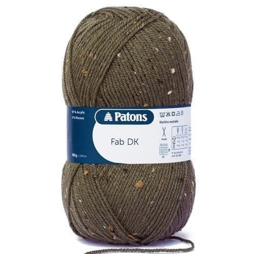 Patons FAB DK  8373 Forest Tweed