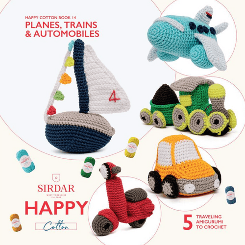 Planes Trains Automobiles Happy Cotton Book 14