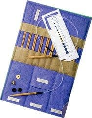 Pony Bamboo Multisize Interchangeable Circular Knitting Pins