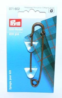 Prym Kilt Pin 3in 76mm Bronze
