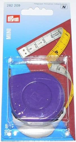 Prym MINI Spring Tape Measure 150cm