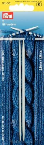 Prym Straight Cable-stitch Pins x 2