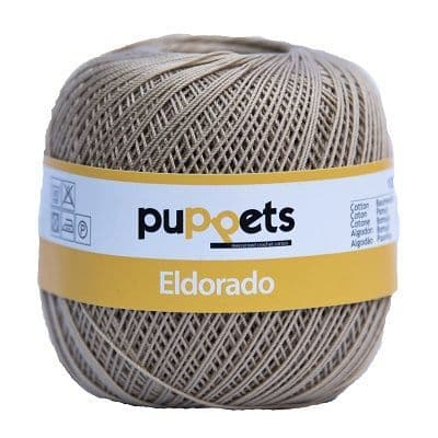 Puppets Eldorado No10 Crochet Cotton 831 Beige 50g