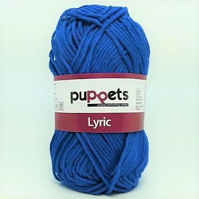 Puppets LYRIC 8/8 Cotton 0201 Blue