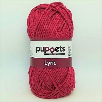 Puppets LYRIC 8/8 Cotton 0258 Pomegranate Red