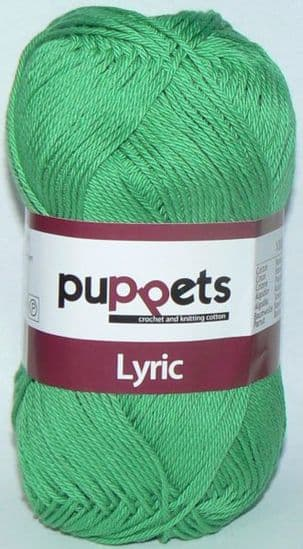 Puppets LYRIC Crochet & Knitting Cotton 8/4