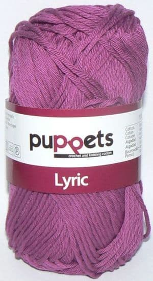 Puppets LYRIC Crochet & Knitting Cotton 8/8