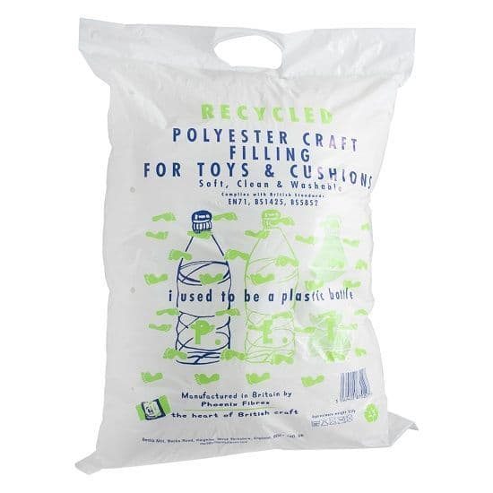 Recycled Polyester Craft Toy Filling 250g