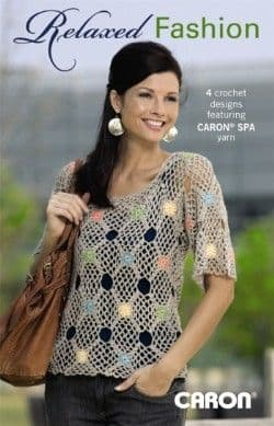 Relaxed Fashions Crochet Pattern Book A5 75275 DISCONTINUED