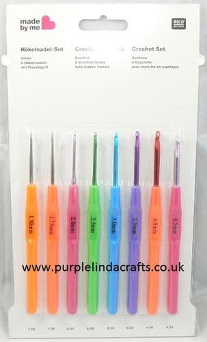 Rico Crochet Hook SET 1.5mm to 4.5mm