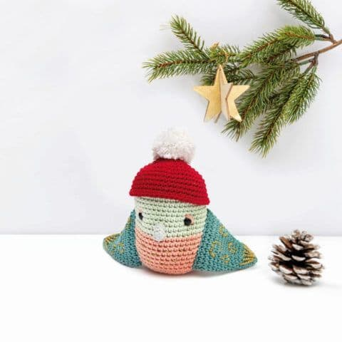 Ricorumi Christmas Crochet Along BIRD Instructions Free