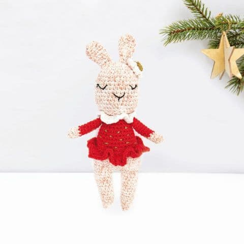 Ricorumi Christmas Crochet Along BUNNY Instructions Free