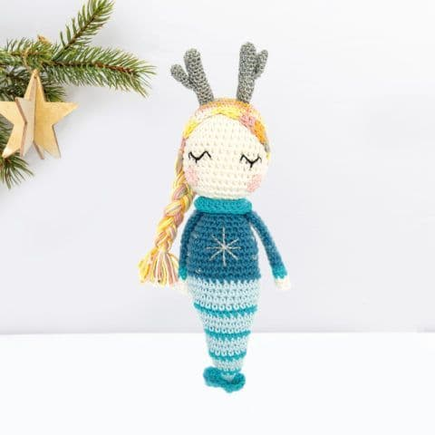 Ricorumi Christmas Crochet Along MERMAID Instructions Free