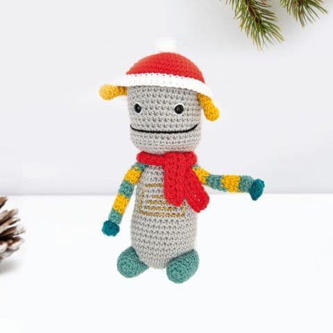 Ricorumi Christmas Crochet Along ROBOT Instructions Free