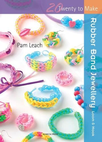 Rubber Band Jewellery 20 Twenty to Make Book DISCONTINUED