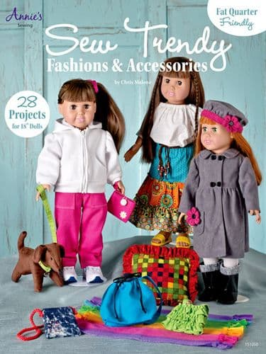Sew Trendy Fashions and Accessories Sewing Book Annies USA 151050 DISCONTINUED