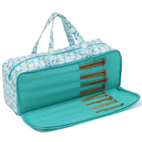 Sheepish Knitting Bag and Bamboo Needles
