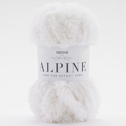 Sirdar Alpine Fur Yarn 400 Polar
