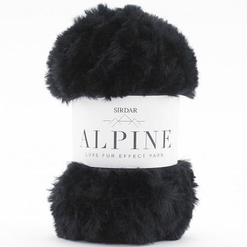 Sirdar Alpine Fur Yarn 401 Panther