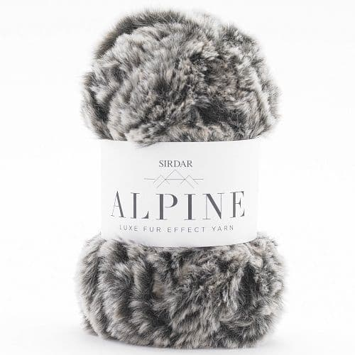 Sirdar Alpine Fur Yarn 403 Brindle