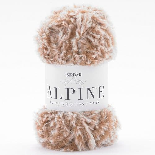 Sirdar Alpine Fur Yarn 404 Lynx
