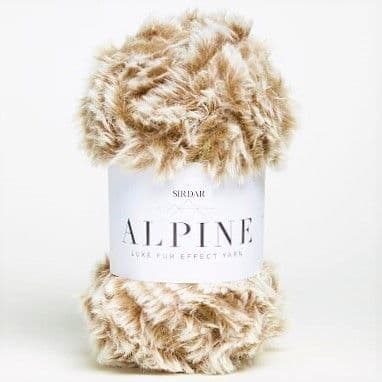 Sirdar Alpine Fur Yarn 407 Sable