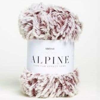 Sirdar Alpine Fur Yarn 408 Mink