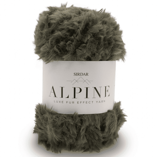 Sirdar Alpine Fur Yarn 412 Forest