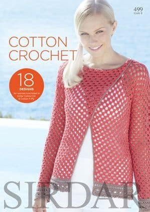 Sirdar Cotton Crochet Book 499