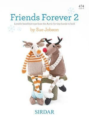 Sirdar Friends Forever 2 knitting Pattern Book 474