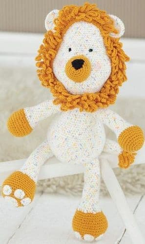 Sirdar Logan the Lion Crochet KIT