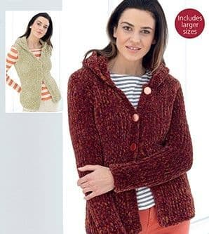 Sirdar Plushtweed Knitting Patterns £1