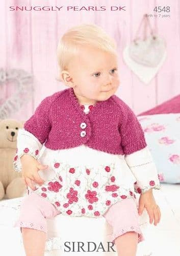 Sirdar Snuggly PEARLS DK Knitting and Crochet Patterns
