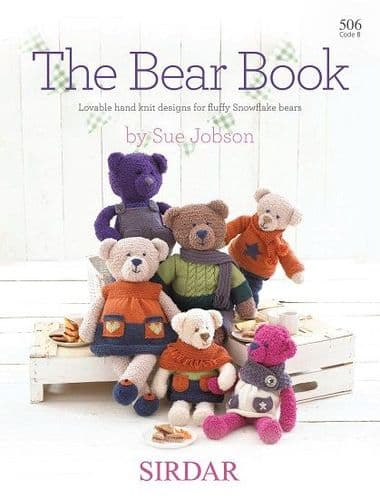 Sirdar The BEAR BOOK knitting Pattern 506