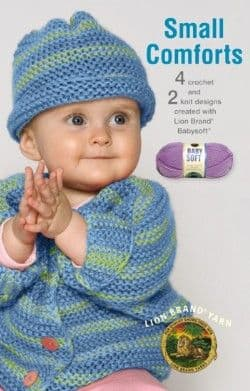 Small Comforts Baby Crochet Pattern Book A5 75277 DISCONTINUED