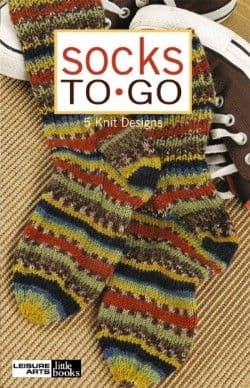 Socks to Go Knitting A5 Book LA 75343 DISCONTINUED