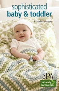 Sophisticated Baby & Toddler Crochet Book A5 75347 DISCONTINUED