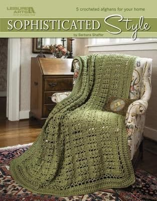 Sophisticated Style Crochet Pattern Book LA 3862 DISCONTINUED