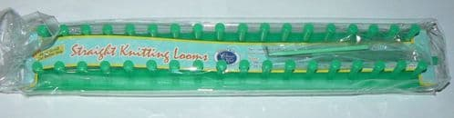 Straight Knitting Loom GREEN 38cm - Classic Knit