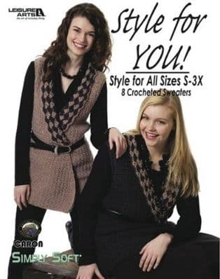 Style for You Crochet Pattern Book LA 4269 DISCONTINUED